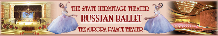 Russian Ballet tickets St. Petesrburg, Russia